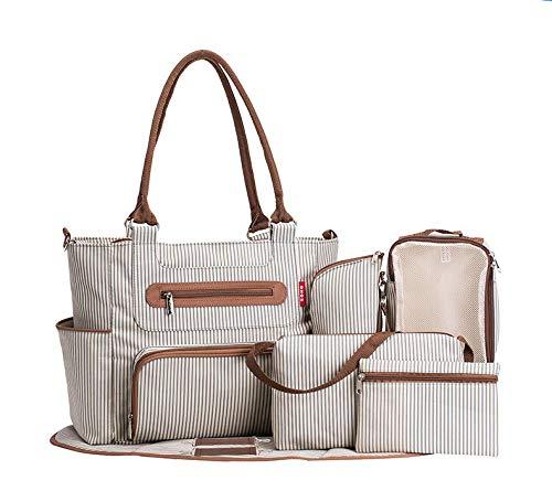 Mommy Bag Bolso Multifuncional De Gran Capacidad Mommy Bag Para Madre Y Bebé