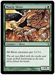 Magic: the Gathering - Muscle Sliver - Premium Deck Series: Slivers - Foil