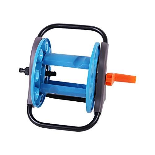 ReedG Outils de Jardin Jardin Compact Tuyau Porte-Tuyau d'eau Support de Rangement Support à roulettes Accessoires de Jardin Durable et résistant aux intempéries (Color : Blue, Size : HBS-8801)