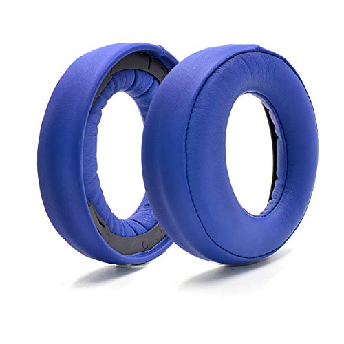 Defean Upgrade earpads Replacement for Sony Gold Wireless Headset PS3 PS4 7.1 Virtual Surround Sound CECHYA-0083 Headphone (Blue)