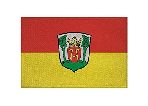 U24 Aufnäher Aurich Fahne Flagge Aufbügler Patch 9 x 6 cm