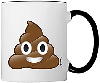 Mug Poo Poop Emoji Coffee Mug-0002-Black