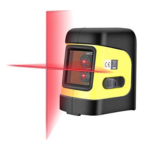Firecore F112R herramientas nivelador nivel láser de línea Cruz Self...