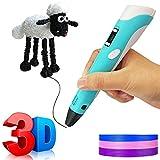 STEELMATES Penna 3D Bambini, Stampa 3D Pen Professionale Adulti con Schermo LCD, Filamento...