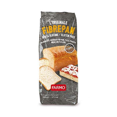 Farmo FibrePan Preparato per Pane Pasta Pizza Senza Glutine 500g