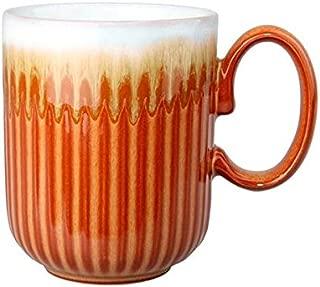 Denby Fire Fluted Mug, Medium, Multicolor