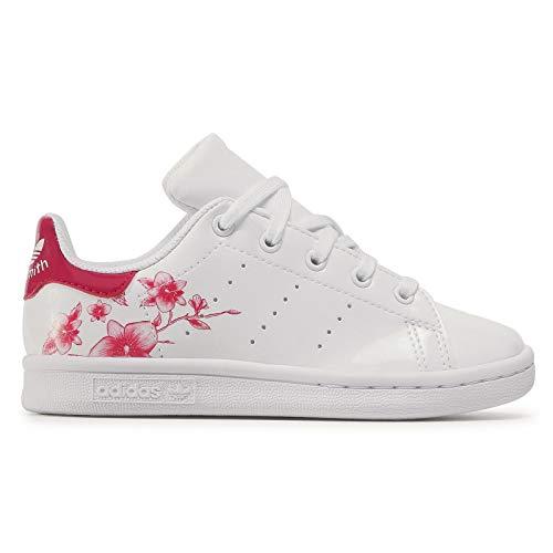 Adidas Stan Smith Junior - Zapatillas deportivas, Blanco (blanco), 40 EU