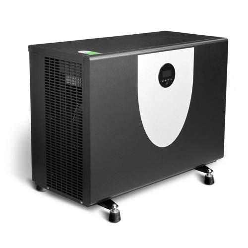 SAXONICA Pool Inverter Wärmepumpe AquaSilence 90 | 9 kW | 230V | COP 14.0