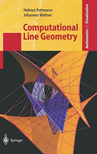 Computational Line Geometry (Mathematics and Visualization)