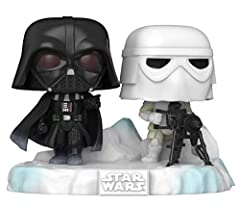 The Star Wars, Battle at Echo Base Funko Pop! Deluxe Series is a brand new set of exclusive combinable figures. All celebrating the 40th anniversary of The Empire Strikes Back, and the ice planet of Hoth. The Pop! Deluxe: Battle at Echo Base series w...