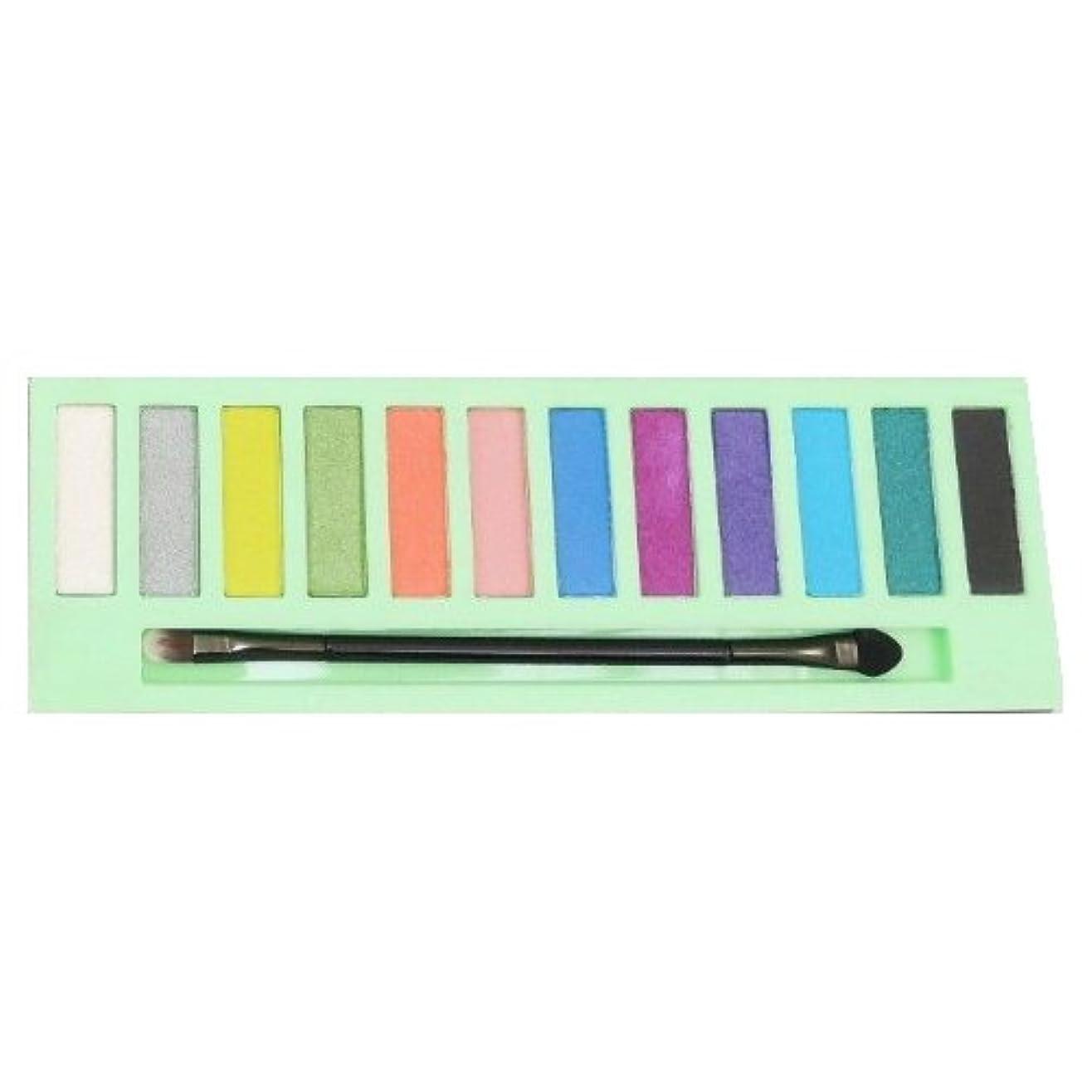 カレッジ弾丸ウェイトレス(6 Pack) LA GIRL Beauty Brick Eyeshadow Collection - Neons (並行輸入品)