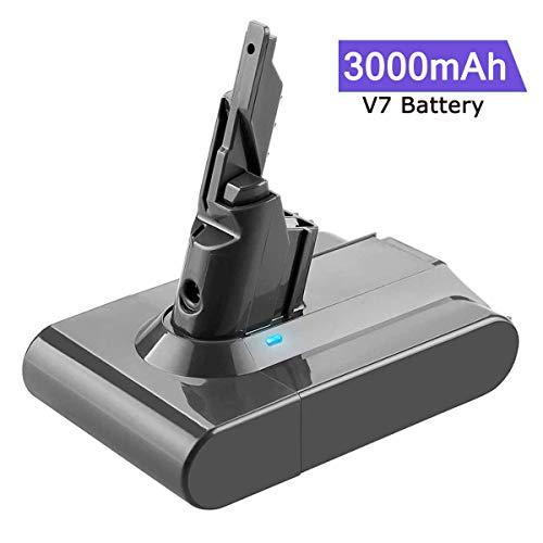 classement un comparer Batterie Boetpcr 21,6 V 3000 mAh V7 pour aspirateur sans fil Dyson V7 Motor Head V7 pour animaux de compagnie…