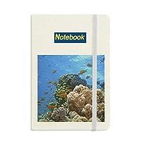 海水魚珊瑚科学は自然の写真 ノートブッククラシックジャーナル日記A 5