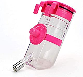Kiang Hu Pet Self Waterer Bottle Drinker Hanging No Drip Automatically Feeding Water for Dog Cat Rabbit and Small Animals