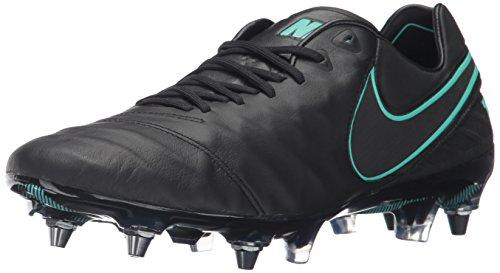 Nike Tiempo Legend VI SG-PRO, Scarpe da Calcio Uomo, Negro (Black/Black), 42