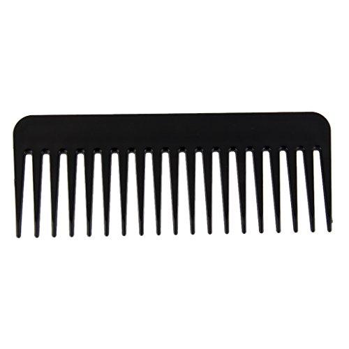 Peigne de Cheveux Raides Anti-statique Démêlant Peigne de Massage Portable