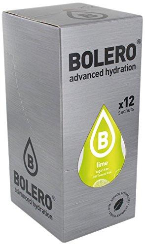 Bolero Bebida Instant?nea Sabor Lima - Paquete de 12 x 9 gr - Total: 108 gr
