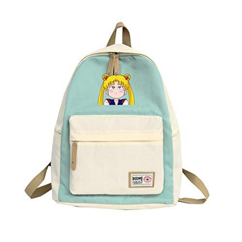 YOYOSHome Anime Cosplay Sailor Moon Rucksack Büchertasche Daypack Schultertasche Schultasche, 10 (Mehrfarbig) - yyyo6