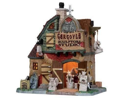 Lemax - Gargoyle Sculptors Studio 15198 Spookytown Halloween