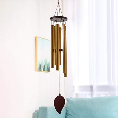 zaizai Campanas de viento resonantes antiguas para colgar en la cama, decoración del hogar, regalo para coche, patio, jardín, decoración de viento (color: A)