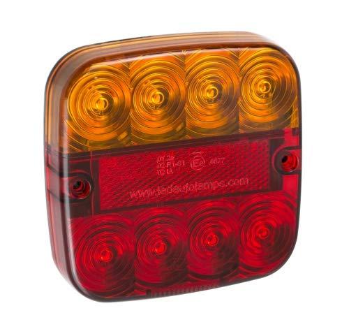 Juego de faros traseros o traseros LED, serie 99, intermitentes, traseros y de freno, ECE/EMC
