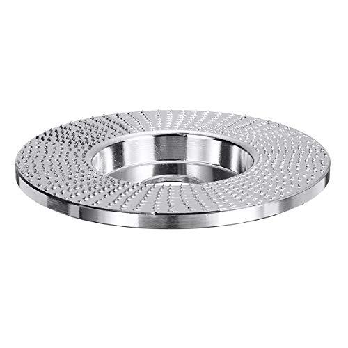 100x22mm ángulo de madera Muela amoladora de disco plano que forma carburo de tungsteno de talla de madera Herramientas de disco for amoladora angular Disco Desbaste Hormigon