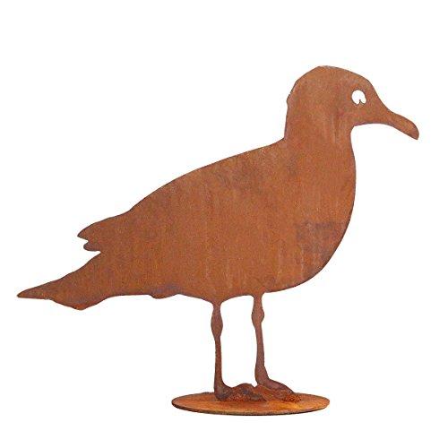 440s.de Rost Möwe, ca. 40 cm B, auf Platte | SA-Moe40 | 4260553561052