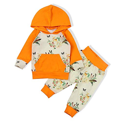 TUEMOS - Juego de 3 trajes de otoño para bebé recién nacido, ropa dulce de manga larga con diadema