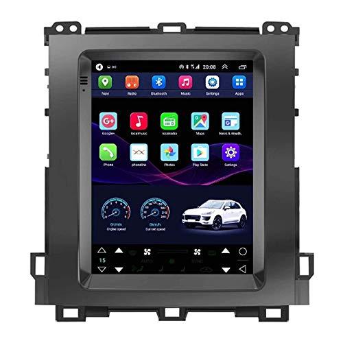 WY-CAR Android 10 Coche Radio para Toyota Prado 2002-2009 Coche Estéreo GPS Navegación Táctil Mostrar Coche Player Doble DIN Head Att Soporte WiFi Volante Rueda,4 core-4G+WiFi: 1+16G