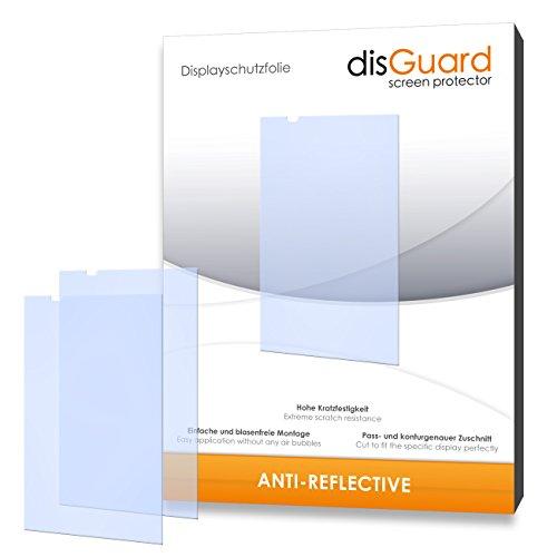 disGuard Displayschutzfolie für HTC Desire 820 Dual SIM [4 Stück] Anti-Reflex, MATT, Entspiegelnd, Extrem Kratzfest, Anti-Fingerabdruck - Displayschutz, Schutzfolie, Panzerfolie