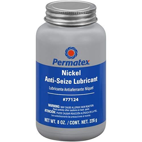 Permatex 77124 Nickel Anti-Seize Lubricant, 8 oz., Pack of 1