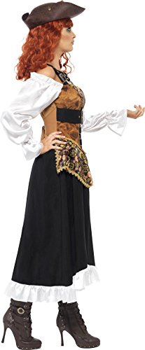 SMIFFYS Di Smiffy - 354 056 - Disguise Steampunk Pirate Woman - Taglia M
