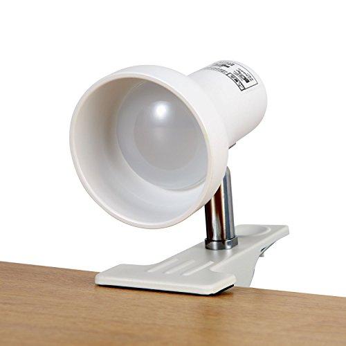 ELPA エルパ LEDクリップライト 昼光色 中間スイッチ付 SPOT-L201D