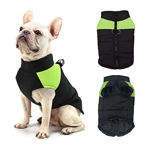 Mascota Chaleco Caliente,Chaqueta de Invierno para Perros,Abrigo de Invierno para Perro,Ropa Impermeable para Perros,Adecuado para Perros pequeños y medianos.