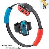 CDwxqBB Ring Fit Adventure pour Accessoires Nintendo Switch, Adapté pour Le Jeu De Sport Somatosensoriel Yoga Fitness Ring + Leg Strap