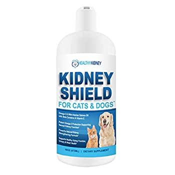 Dog and Cat Kidney Support Canine Feline Renal Health Support Supplement For Normal Kidney Function Creatinine Detox Urinary Track Cleansing Best Kidney Stuff Improve Pets Alive an Kidney Health