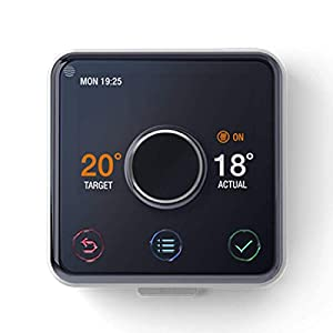works with  Alexa Active Heating and Hot Water without installation with Copper Blush Frame Hive 2