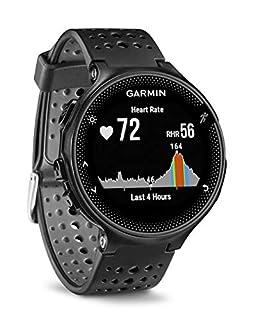 Garmin Forerunner 235 GPS Sportwatch con Sensore Cardio al Polso e Funzioni Smart, Cinturino in silicone, Nero/Grigio (B016ZWT64M)   Amazon price tracker / tracking, Amazon price history charts, Amazon price watches, Amazon price drop alerts
