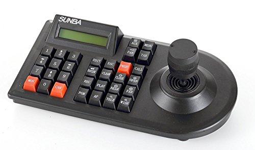 Sunba 3D Keyboard Joystick für analoge CCTV PTZ Dome Kameras, kompatibel mit Mainstream DVR