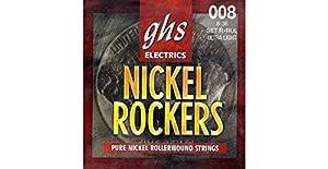 .008(2) .011 .014 .022 .030 .038 - Juego / Guitarra EléctricaUltra LightPur Nickel WoundRollerwoundHexagonal CoreMade in USA