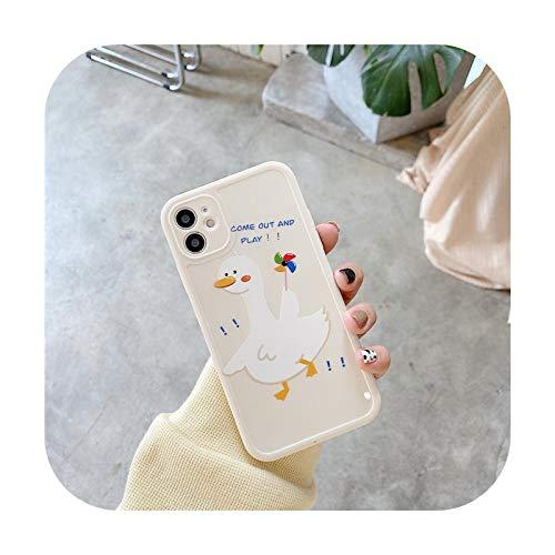 Funda de teléfono para iPhone 12 11 Pro Max X XR XS 7 8 Plus protección de cámara SE 2020 mascota gato a prueba de golpes cubierta de TPU suave 32-para iPhone XR