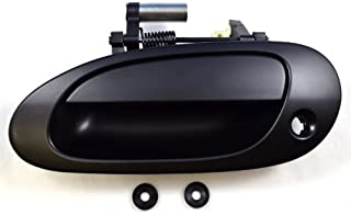 PT Auto Warehouse AC-3101P-FL - Outside Exterior Outer Door Handle, Primed Black - Driver Side