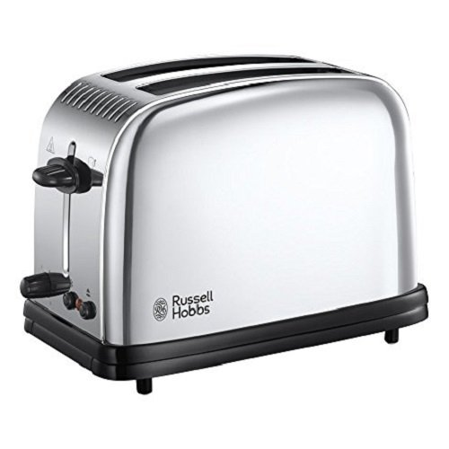 Russell Hobbs Classic Long Slot 2-Slice Toaster 23310, Stainless Steel Silver