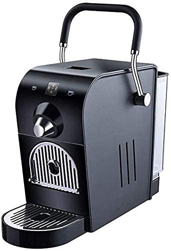 JLKDF Machine à café électrique à Capsule 20Bar Pression Domestique Conception compacte Automatique Réservoir deau 0.8L 1400W 220V Compatible avec Capsule Italico/Martello, Noir (Couleur: Noir)
