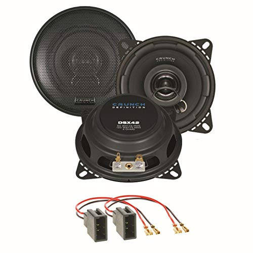 Crunch DSX42 Lautsprecher Boxen Einbauset für Citroen C1 Toyota Aygo Peugeot 107 Armaturenbrett