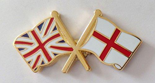 1000 drapeaux de l'Angleterre et drapeau du Royaume-Uni