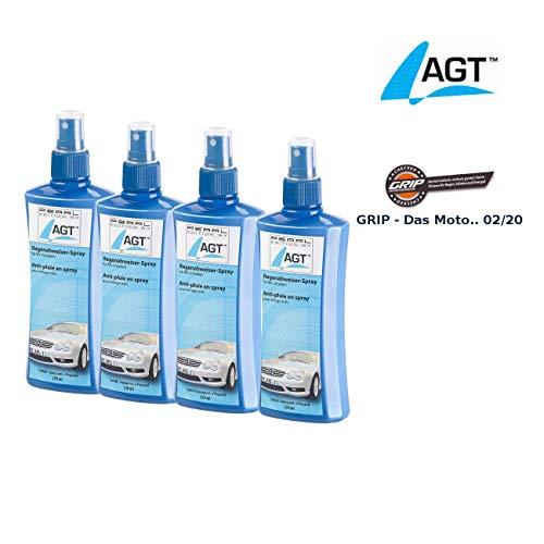 AGT Versiegelung: 4er-Set Regenabweiser-Spray für Kfz-Scheiben, je 250 ml (Wasserabweiser)