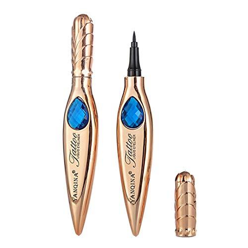 Jessboyy stylo crayon crayon de maquillage pour les yeux imperméable à l'eau de beauté maquillage cosmétique beauté sèche rapidement contour des yeux liquide