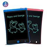 ORSEN LCD Writing Tablet 2 Pack, 8.5-inch Writing Board Doodle Board Drawing Pad...