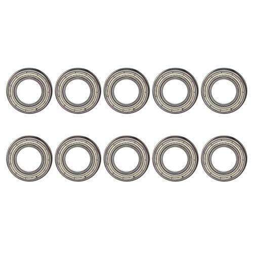 Rodamiento de bolas de ranura profunda Accesorios mecánicos Rodamiento de brida de rodamiento de usos múltiples para electrodomésticos(F6903ZZ)